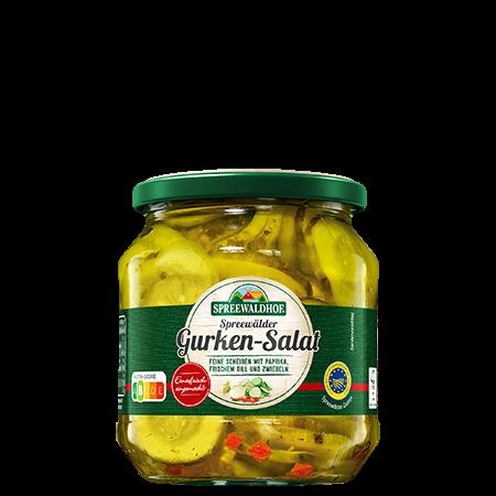 Spreewälder Gurken-Salat