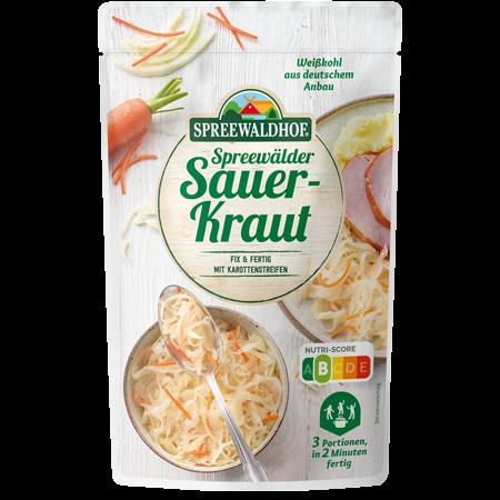Spreewälder Sauerkraut Fix & Fertig, 400 g