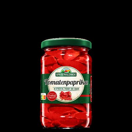 Tomatenpaprika in Streifen, 370 ml