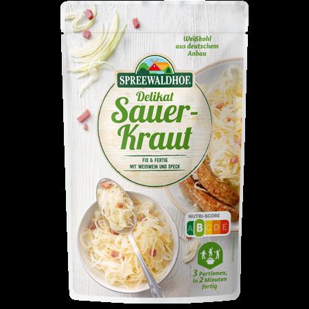 Delikat-Sauerkraut Fix & Fertig, 400g