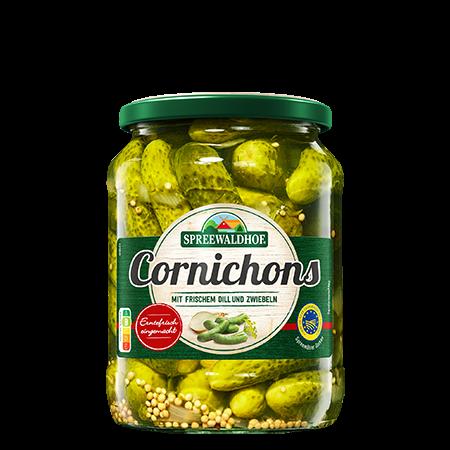 Cornichons, 720 ml