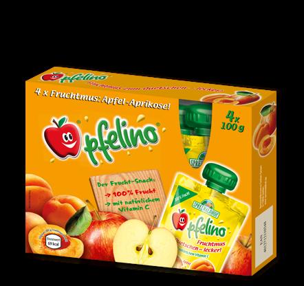 pfelino Apfel-Aprikose Multipack
