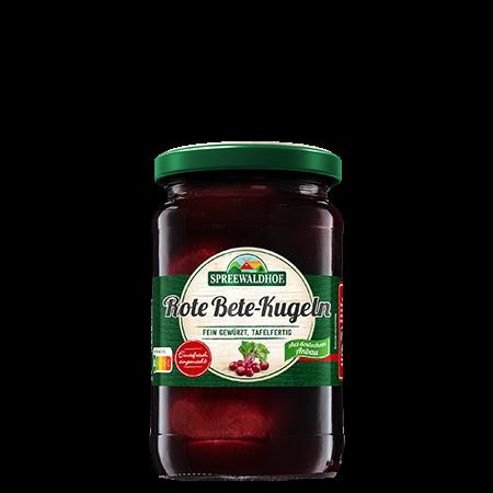Rote Bete-Kugeln, 370 ml